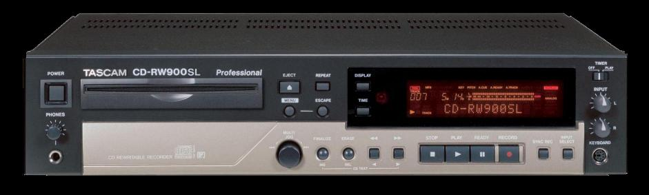 Tascam CDRW900SL CD Recorder